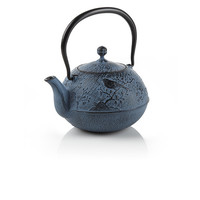 Blue Maromi Bird Cast Iron Teapot at Teavana        | Teavana