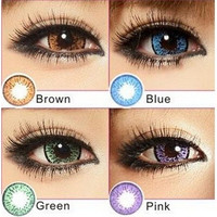 Color Blends Pure Contact Lenses Comfortable Wear Comfortable