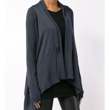 RICK OWENS   Asymmetric Cashmere-Blend Cardigan   brownsfashion.com   The Finest Edit of Luxury Fashion   Clothes, Shoes, Bags and Accessories for Men & Women