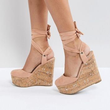 ASOS TATE High Wedges at asos.com