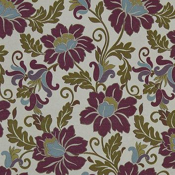 Robert Allen Fabric 221572 Open Meadow Peony