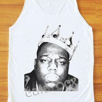 The Notorious B.I.G. Shirt Hip Hop Shirt Women Tank Top Women Tunic Top Unisex Shirt Vest Women Sleeveless Singlet Shirt Women T-Shirt S,M,L