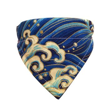 Pet Dog Collar Scarf Adjustable Printed Classic Puppy Neckerchief Bandana for Cats Dogs TB Sale