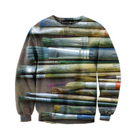 Paintbrushes Sweatshirt