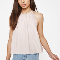 Kendall & Kylie Crochet Trim Goddess Tank Top at PacSun.com