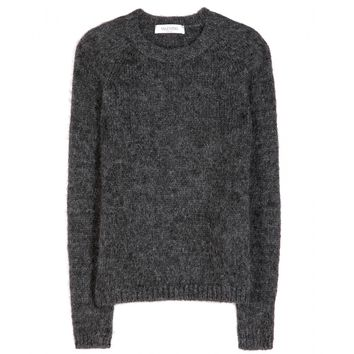 valentino - mohair-blend sweater