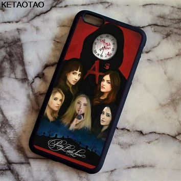 KETAOTAO Pretty Little Liars simple Phone Cases for iPhone 4S 5C 5S 6 6S 7 8 Plus XR XS Max X S8 Case Soft TPU Rubber Silicone