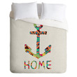 Bianca Green You Make Me Home Duvet Cover