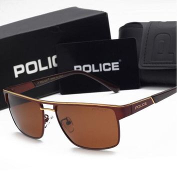 """Gotopfashion POLICE Colour film sunglasses Polarized sunglasses Outdoor sports driving cluse goggles best gifts H-YJ-LHSTCYJC"""""""