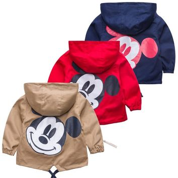 Kids Funny Pattern Rain Jacket