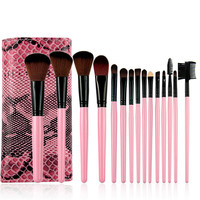 [BIG SALE] on Naked 15 Piece Makeup Brush Set Free Shipping