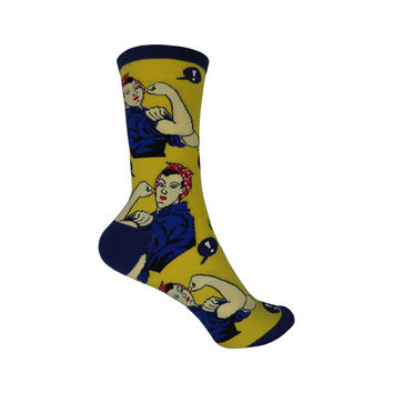 Rosie Crew Socks in Yellow