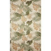 Trans Ocean Ravella Tropical Leaf Area Rug
