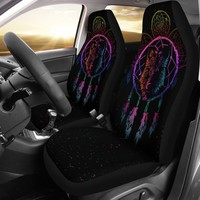 Wolf Dream Catcher Universal Fit Covers
