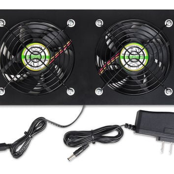 Whisper EX Fan Kit with Thermo-Controller for Standout Media Consoles