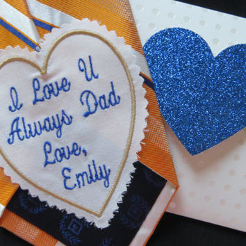 Custom Embroidered Wedding Tie Patch. Best Man,  Father of the Bride Gift. Uncle Gift. Stepdad Gift. Brother Gift. Wedding gifts ideas. Tie