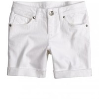 Colored Mid-thigh Denim Shorts | Mid-thigh 5  Inseam | Shorts | Shop Justice