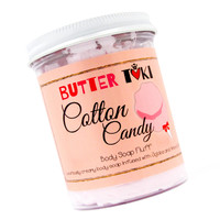 COTTON CANDY Whipped Body Soap Fluff