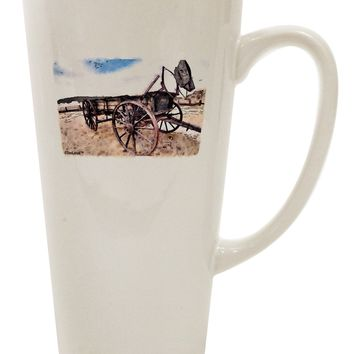 Antique Vehicle 16 Ounce Conical Latte Coffee Mug