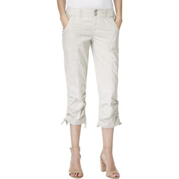INC Womens Rhinestone Cargo Pants