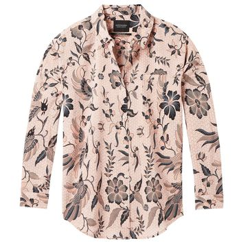 SCOTCH & SODA | Printed Button Down Shirt - Blush