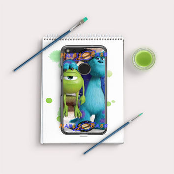 Monsters Inc sulley holding mike Google Pixel Case Planetscase.com