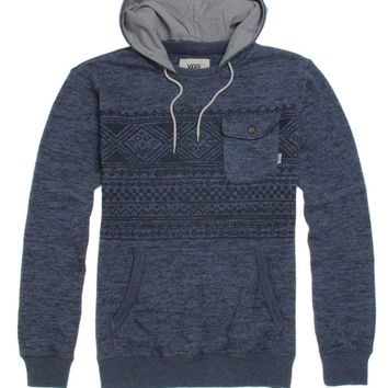 Vans Flurry II Fleece Hoodie - Mens Hoodie - Blue