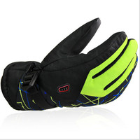 Men Winter Ski sport waterproof gloves -30 degree warm riding cycling bicycle gloves snowboard Motorcycle outdoor gloves