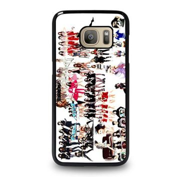kpop girls samsung galaxy s7 case cover  number 1