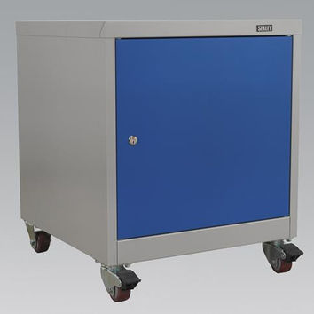 Sealey - API5659 Mobile Industrial Cabinet 1 Shelf Locker