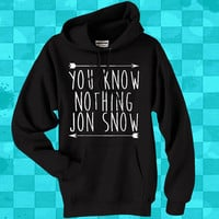 You Know Nothing Jon Snow crewneck hoodie for men and women