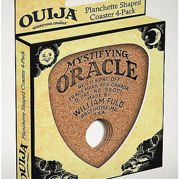 Ouija Planchette Cork Coaster 4 Pack - Hasbro - Spencer's