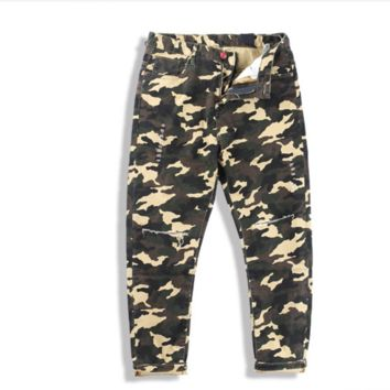 The new men's leisure camouflage pants sports harem pants