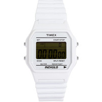Timex 80 Black & White Print Adjustable Watch
