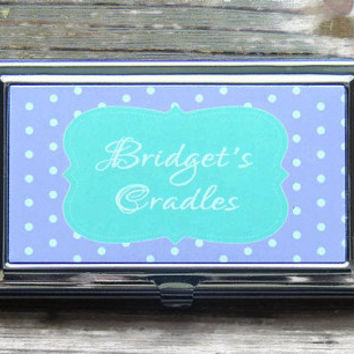 business card holder, personalized business car holder, personalized gift, office gift, first job gift, business cards, stocking stuffer