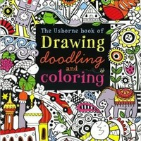 Drawing,Doodling and Coloring Book