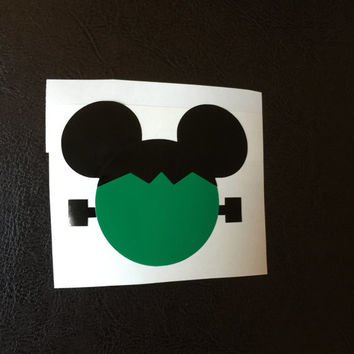 Frankenstein Mickey Decal Any Color Any Size Disney Lover