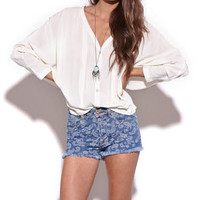 Insight Manifesto Blouse at PacSun.com