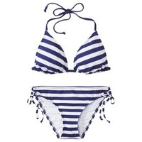 Mossimo® Women's Mix and Match Stripe Collection -Indigo Night