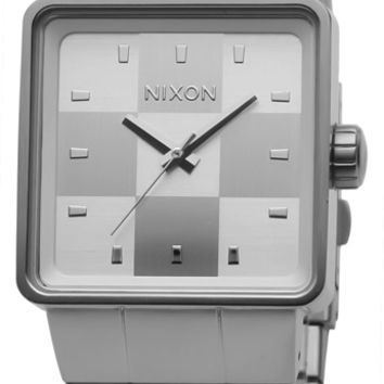 Nixon Quatro White Mens Watch A013100