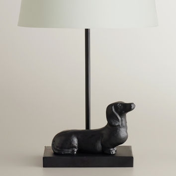 Dachshund Accent Lamp Base - World Market