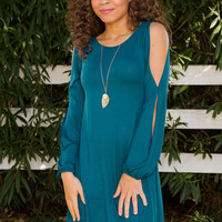 Lydie Dress - Teal