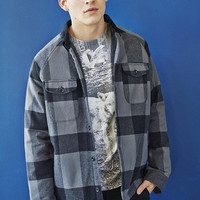 Your Neighbors Flannel Shirt Jacket - Urban Outfitters