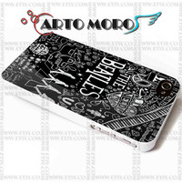 Design The Beatles lyric Collage - iPhone 4/4S Case, iPhone 5/5S Case, iPhone 5C Case and Samsung Galaxy S3 i9300 Case, S4 i9500 Case.