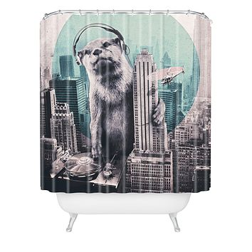 Ali Gulec DJ Shower Curtain
