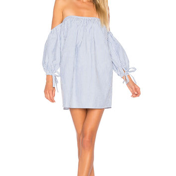 Tularosa x REVOLVE Puri Dress in Blue & White Stripe | REVOLVE