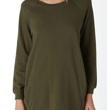 Unwind French Terry Tunic