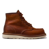 "Red Wing Shoes Classic Lifestyle 6"" Classic Moc in Cognac"