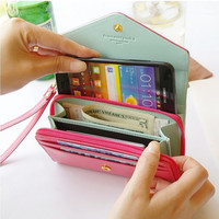 samsung galaxy s4 i9300 wallet case bling iphone 5 case Crystal leather samsun case samersung iphone4/4s cov case