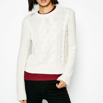CHARLTON CABLE SWEATER
